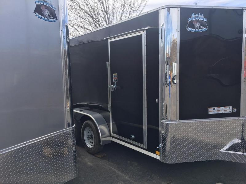 2019 RM Manufacturing EC 7 12 TA (CONTRACTOR GRADE) Enclosed Cargo Trailer-WHEAT RIDGE