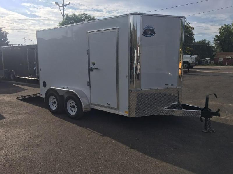 2019 R&M Manufacturing EC 7 12 TA (CONTRACTOR GRADE) Enclosed Cargo Trailer-CO SPRINGS