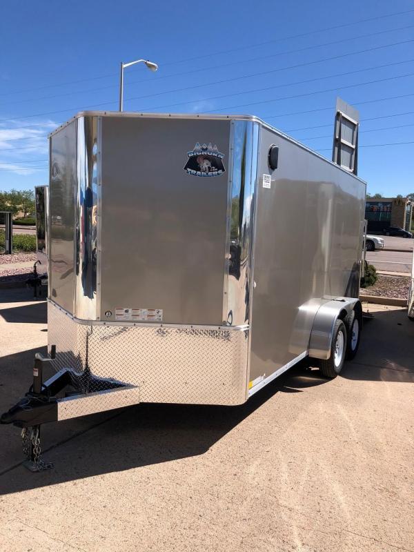 2019 R&M Manufacturing EC 7 14 TA (CONTRACTOR GRADE) Enclosed Cargo Trailer-CO SPRINGS