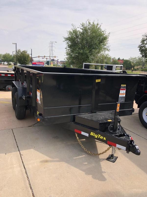 2019 Big Tex Trailers 14LX-14 W/HYDRAULIC JACK Dump Trailer-CO SPRINGS