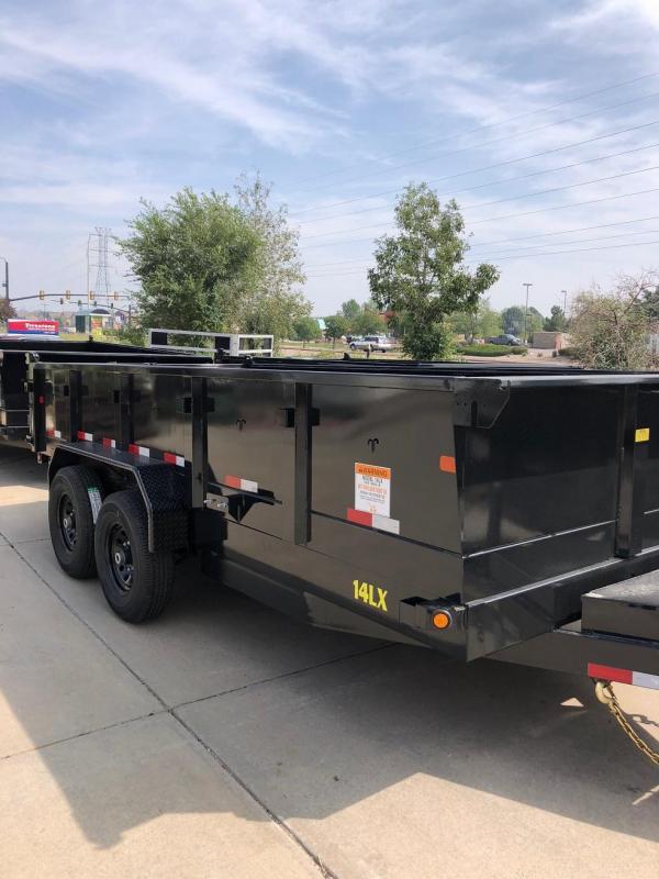 2019 Big Tex 14LX-16 w/Scissor Lift Hoist Dump Trailer-CO Springs