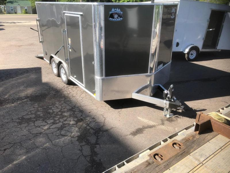 2020 R&M 8.5x14 v-nose (TAC) Enclosed Cargo Trailer-Wheat Ridge