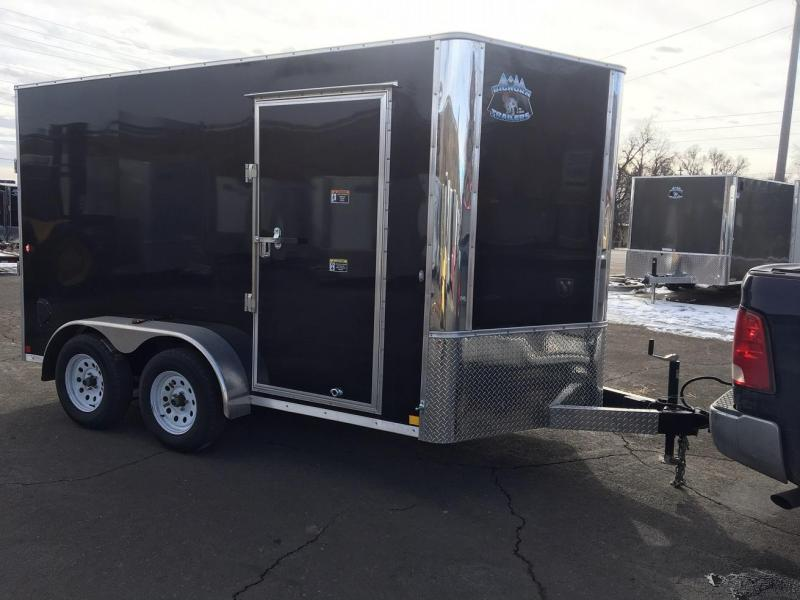 2019 R&M 7x12 (CONTRACTOR GRADE) Enclosed Cargo Trailer-WHEAT RIDGE