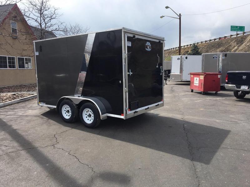 2020 R&M 7x12 v-nose TAC Enclosed Cargo Trailer-Wheat Ridge
