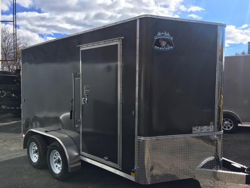 2019 R&M Manufacturing EC 7 12 TA (TAS MODEL) Enclosed Cargo Trailer-WHEAT RIDGE