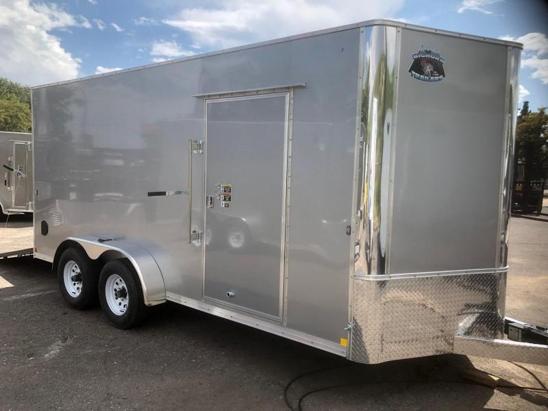 "2020 R&M 7x16 v-nose 84"" 10k (TAC) Enclosed Cargo Trailer-Wheat Ridge"