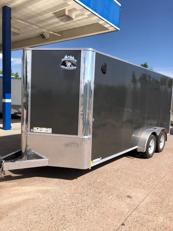 2020 R&M 7x16 v-nose (TAC) Enclosed Cargo Trailer-CO SPRINGS