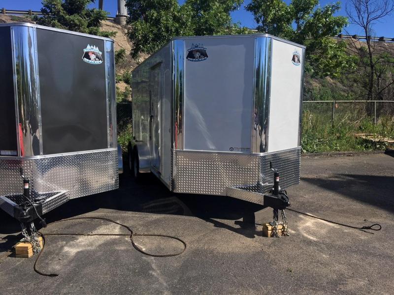2019 R&M Manufacturing EC 7 14 TAC Enclosed Cargo Trailer-WHEAT RIDGE