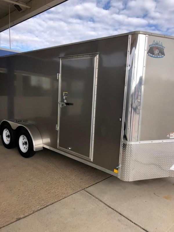2019 R&M Manufacturing EC 7 16 TA (CONTRACTOR GRADE) Enclosed Cargo Trailer-CO Springs