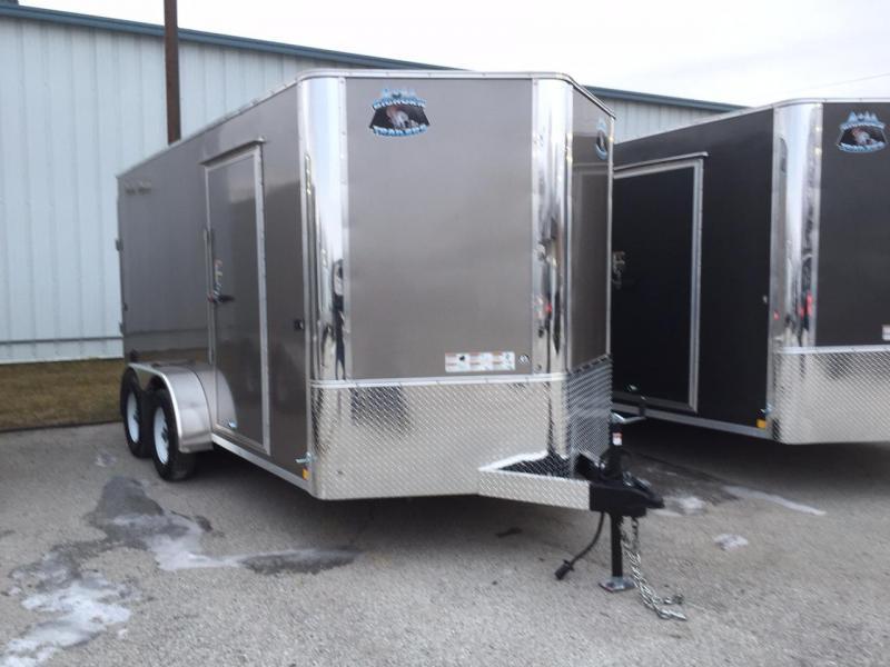 2020 R&M 7x14 Contractor Enclosed Cargo Trailer