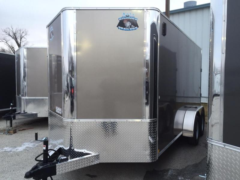 2019 RM Manufacturing 7x14 Contractor Enclosed Cargo Trailer