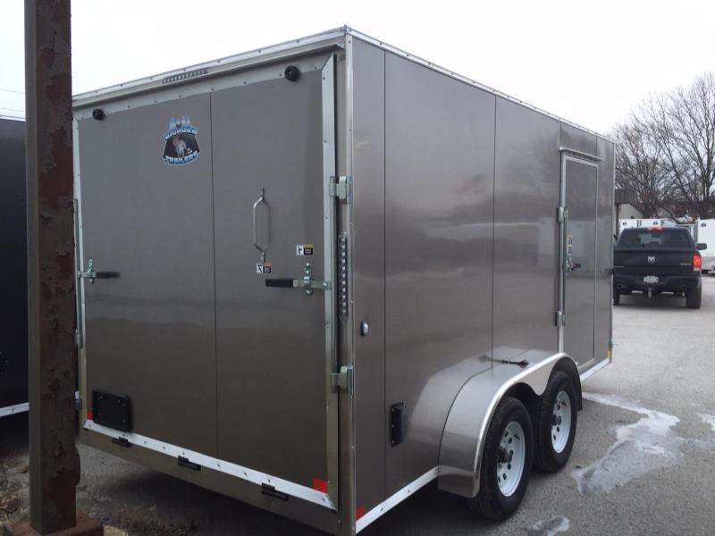 2019 R&M Manufacturing 7x14 Contractor Enclosed Cargo Trailer