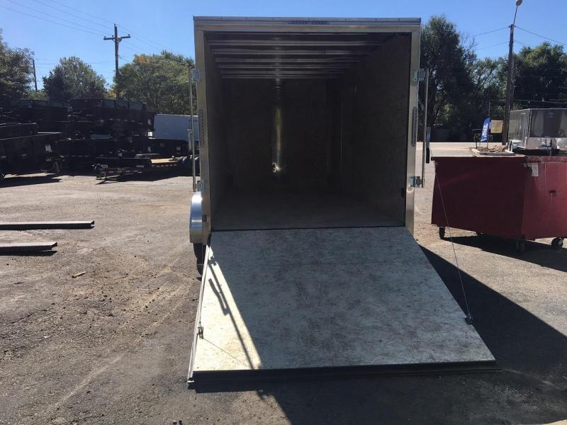 2019 R&M Manufacturing 7X14v-nose TAS Enclosed Cargo Trailer-Wheat Ridge