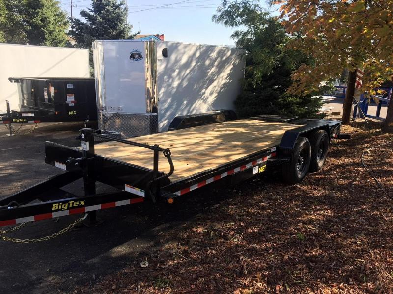 2019 Big Tex Trailers 14ET-20 W/MEGA RAMPS Equipment Trailer-WHEAT RIDGE