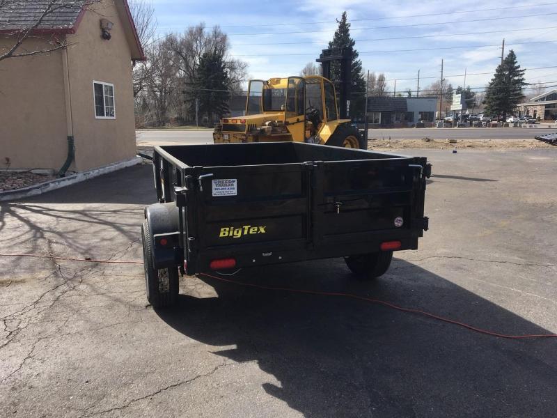 2019 Big Tex Trailers 50SR-08 Dump Trailer-WHEAT RIDGE