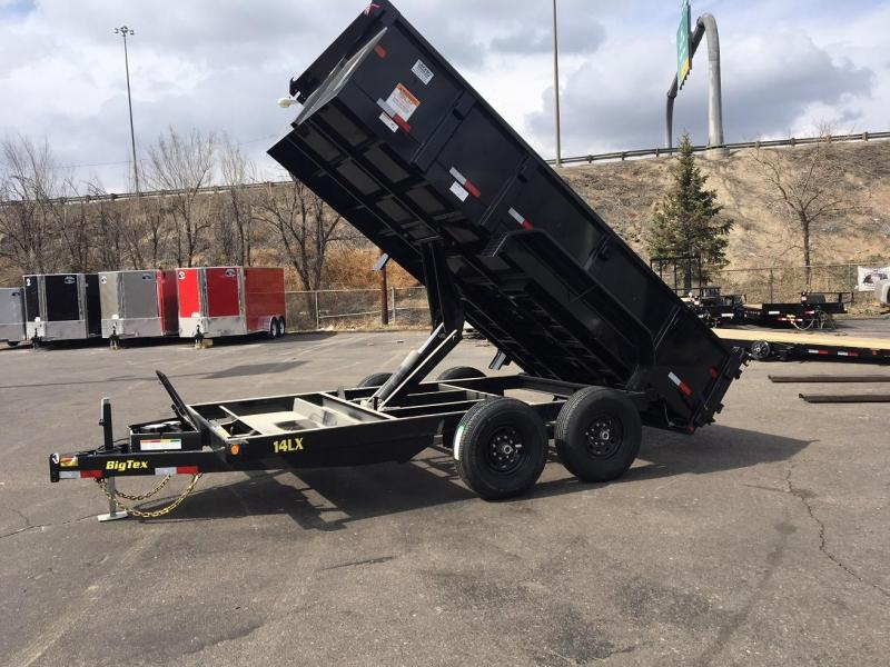 2019 Big Tex Trailers 14LX-14 W/SCISSOR LIFT HOIST Dump Trailer-CO SPRINGS