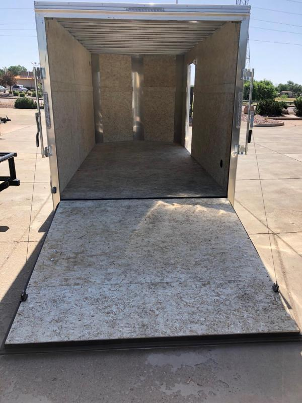 2019 R&M 7x12 Enclosed Cargo Trailer-CO SPRINGS
