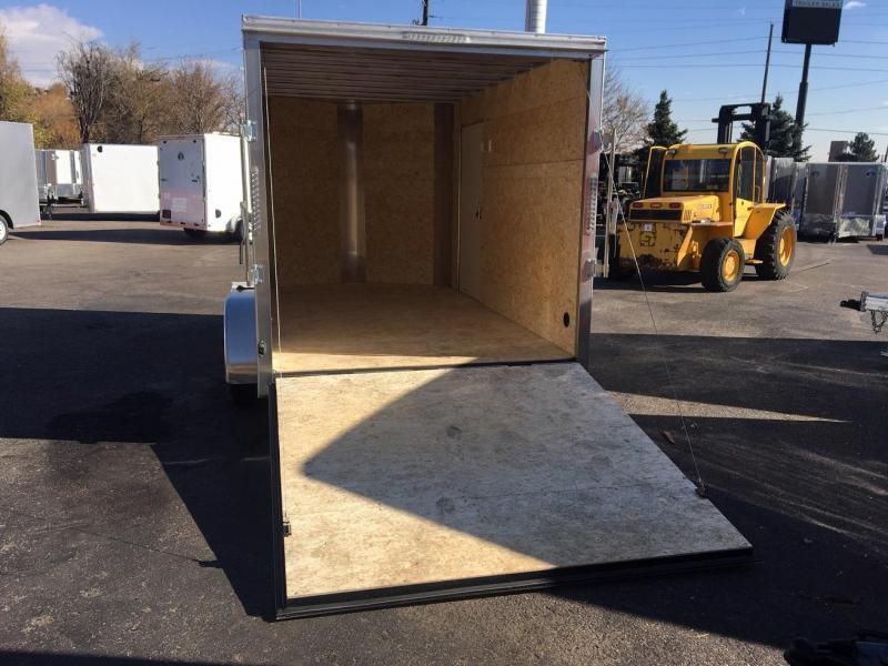 2020 R&M 7x14 v-nose (TAC) Enclosed Cargo Trailer-Wheat Ridge