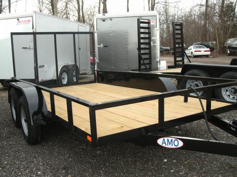 2020 American Manufacturing Operations (AMO) 6 X 12 UT TANDEM Utility Trailer