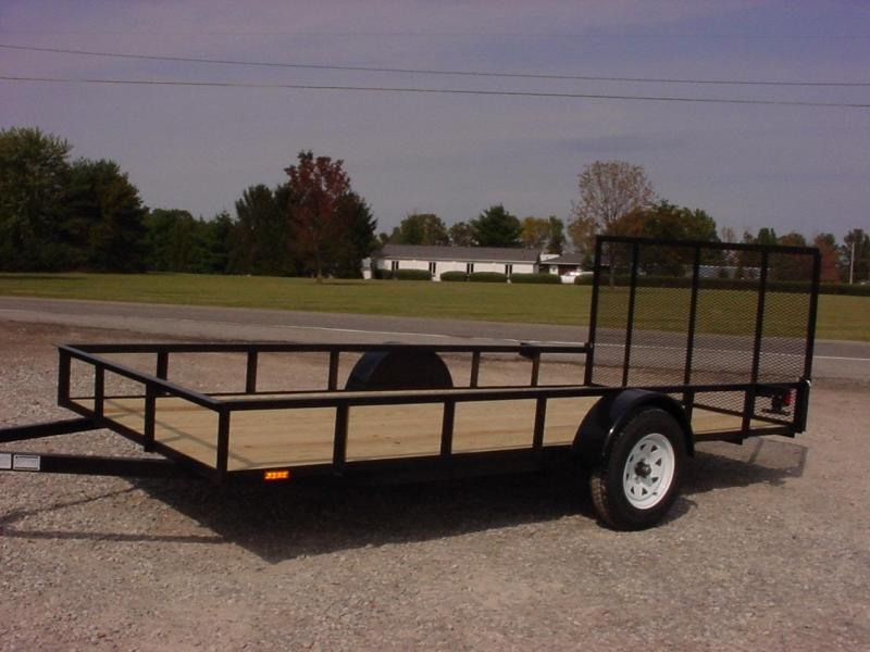 2019 American Manufacturing Operations (AMO) 6X12UT Utility Trailer