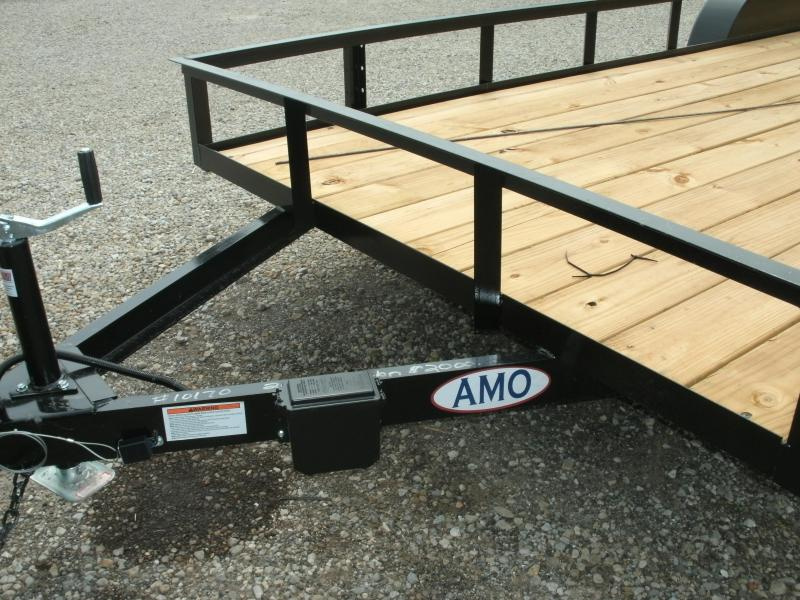 2019 American Manufacturing Operations (AMO) 6 X 20 UT TANDEM Utility Trailer