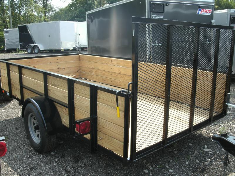 2019 American Manufacturing Operations (AMO) 6X10UT Utility Trailer