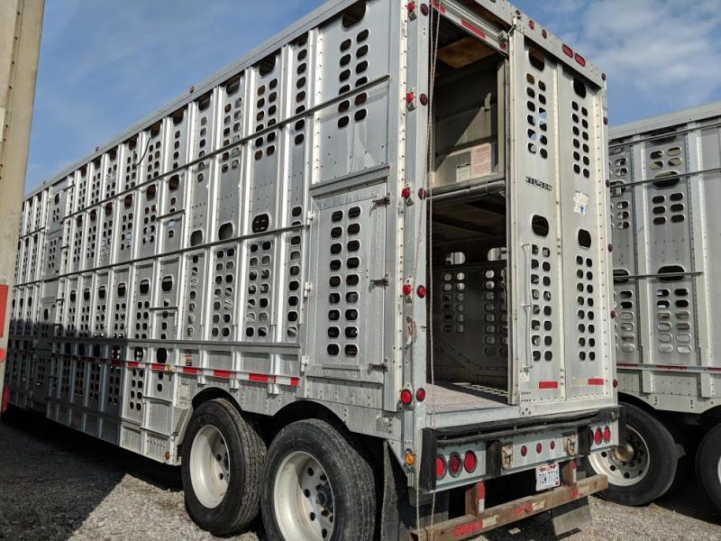 2003 Wilson 53' Semi Cattle Pot