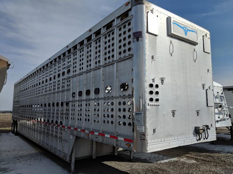2013 Eby 50' Cattle Pot Trailer