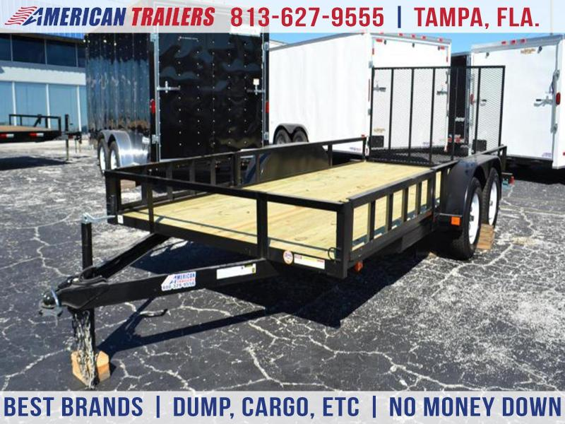 7x16 Red Hot Trailers | *Utility*ATV*Trailer*Trailers