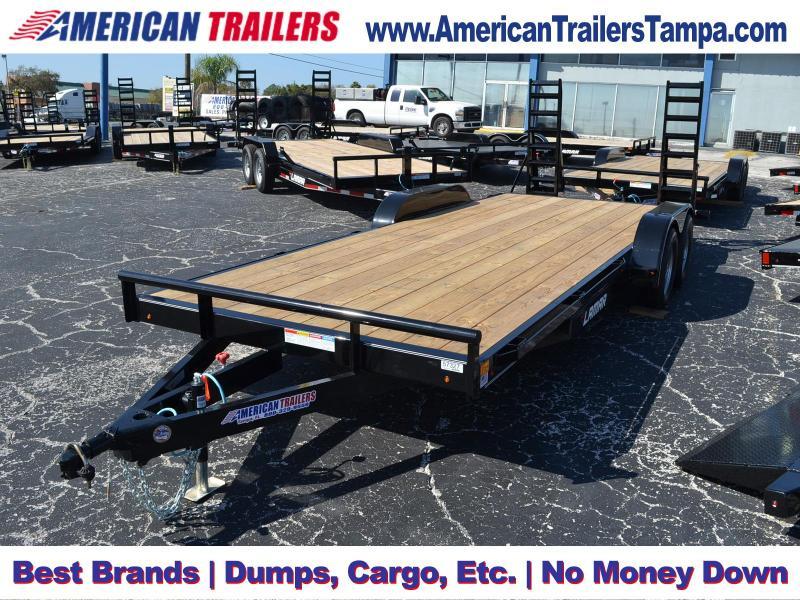 7x20 Lamar Trailers | Classic Deck Car Hauler