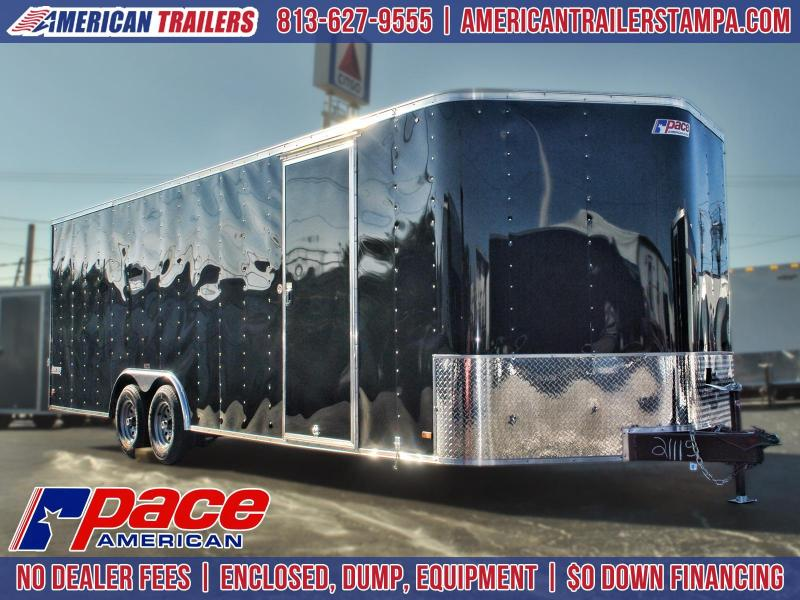 SALE: 8.5x24 Pace | *Enclosed*Trailer*Trailers*Race*