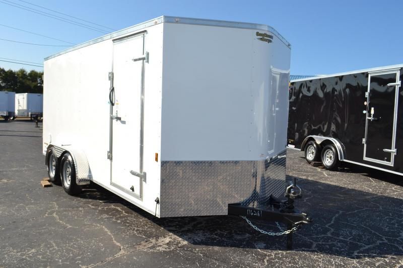 7x16 Continental Cargo | Enclosed Trailer [Barn Doors ...