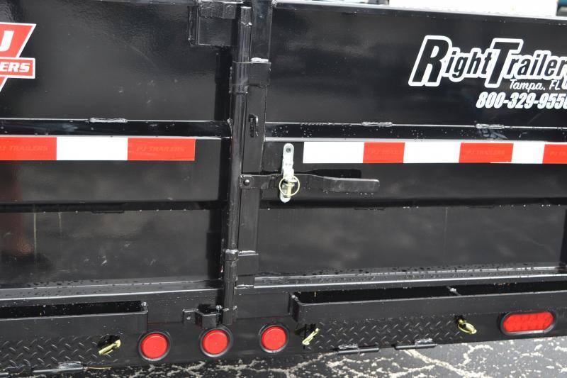 7x16 PJ Trailers | Dump Trailer