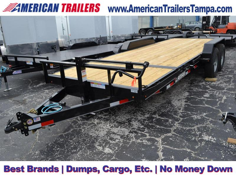 7x20 Lamar Trailers | Equipment Trailer [Tilt Deck]
