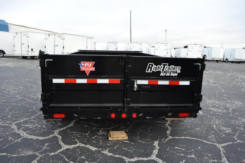 7x14 PJ Trailers | Dump Trailer