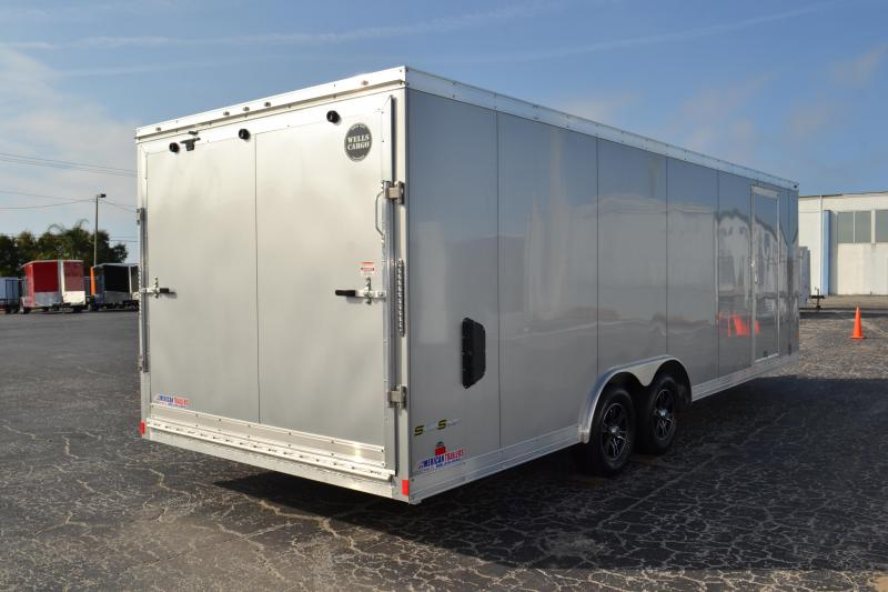Enclosed Cargo Trailers American Trailers Tampa New