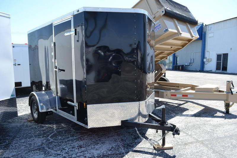 2019 6x10 Continental Cargo Enclosed Cargo Trailer