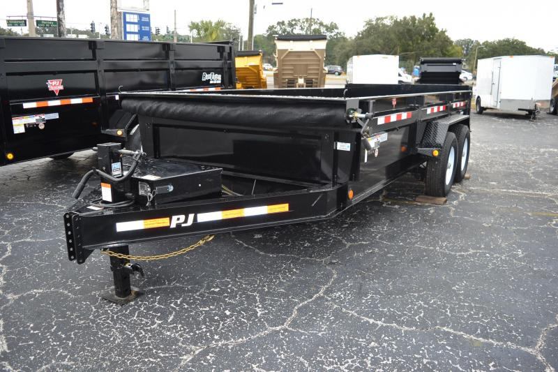 7x16 PJ | Low Pro | Dump Trailer