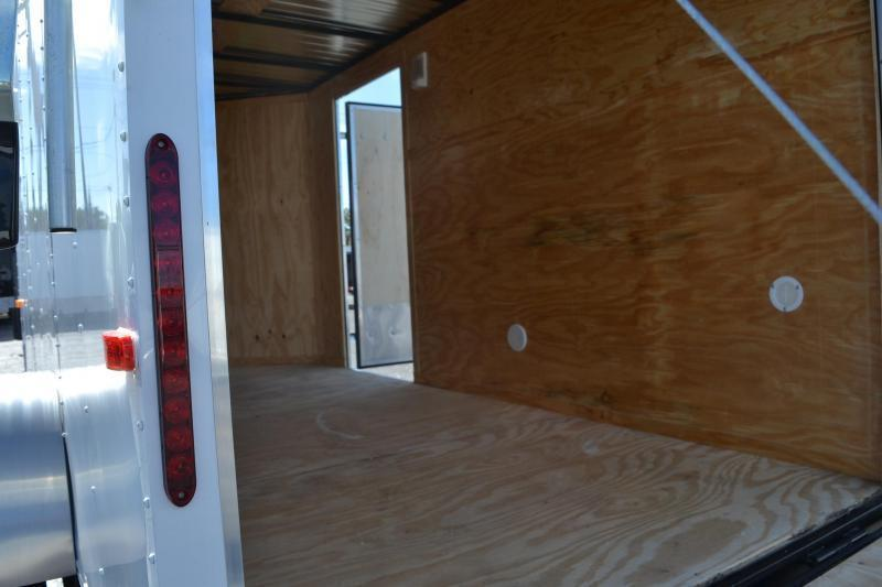 6x12 Red Hot Trailers | Enclosed Cargo Trailer