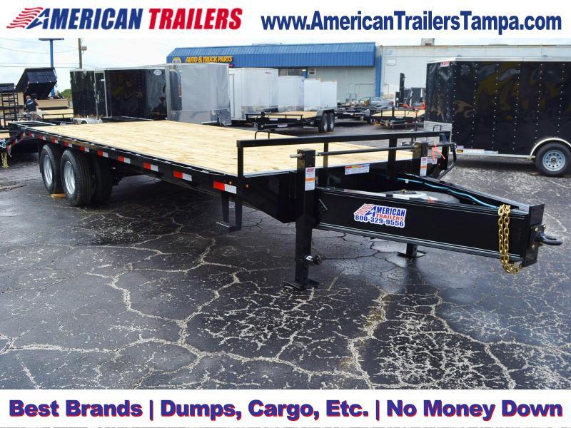 8.5x25 Lamar Trailers | Equipment Trailer