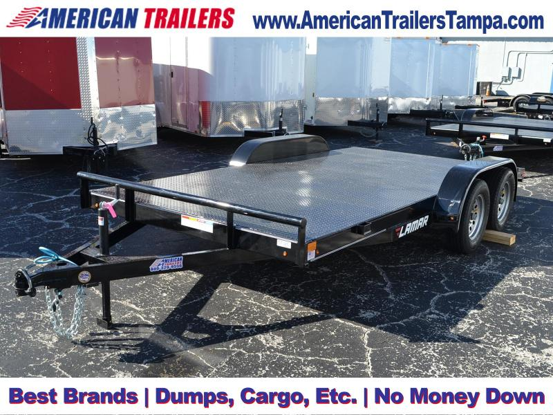7x16 Lamar Trailers | Car Hauler
