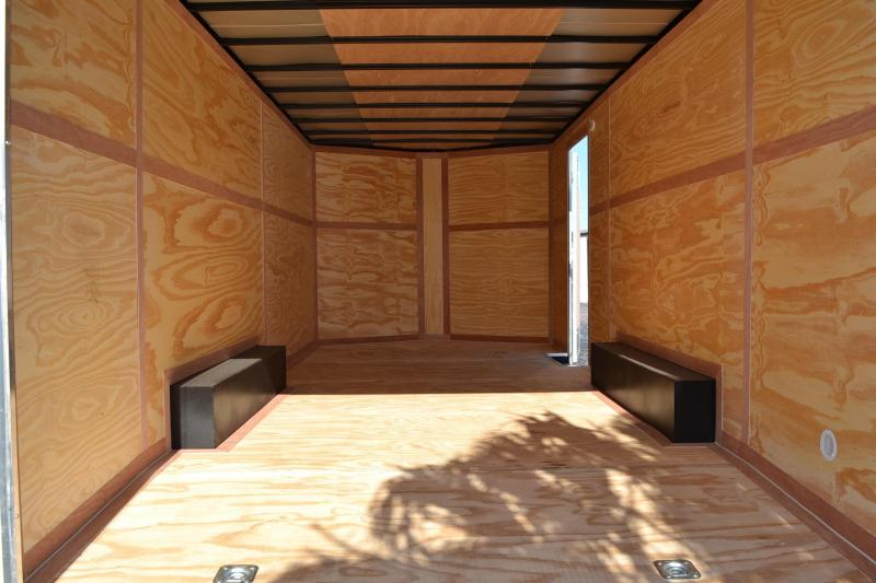 8.5x20 Continental Cargo Trailers | Enclosed Trailer