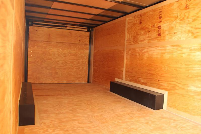 8.5x24 Contintental Cargo | Enclosed Trailer