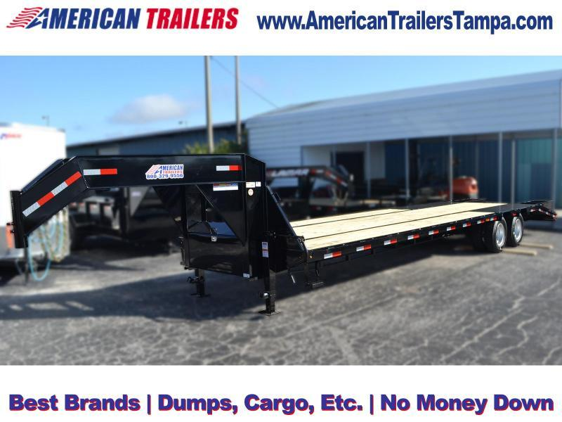 8.5 x 32 Lamar Trailers | Gooseneck Equipment Trailer