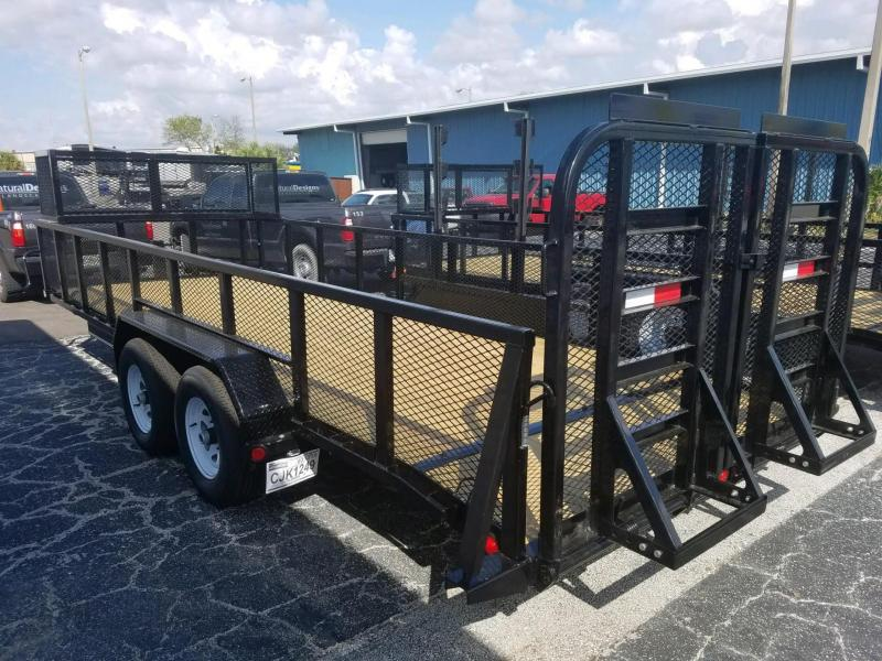 7x20 PJ Trailers | Special Order Utility Landscape Trailer