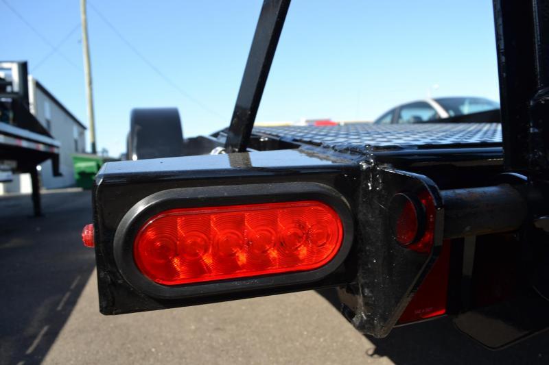 7x20 Lamar Trailers | Open Steel Deck Car Hauler Trailer
