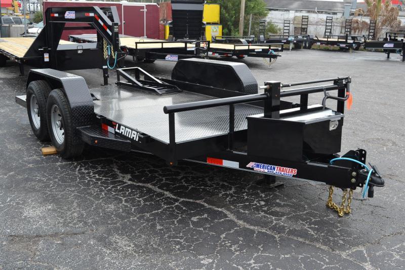 Bobcat Trailer Fenders : Lamar bobcat skidsteer trailer equipment