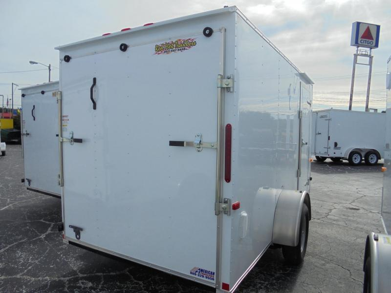 6x12 Red Hot Trailer | Enclosed Trailer