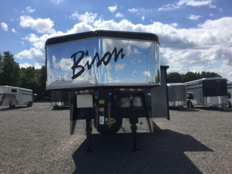 2014 Bison Trailers 8314TE Horse Trailer