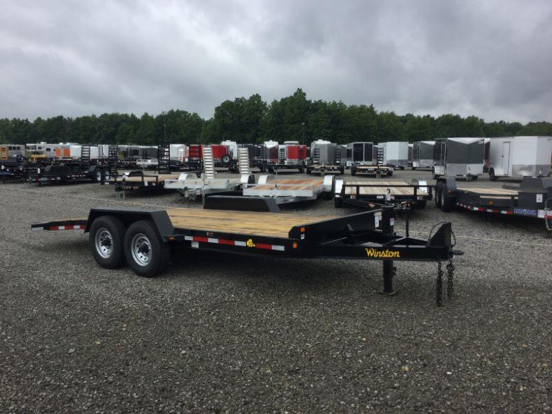 2018 Winston BT20719ES Equipment Trailer